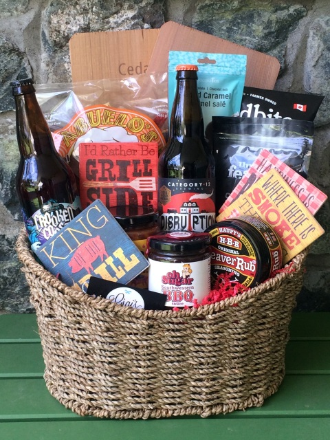 Father's Day BBQ Basket