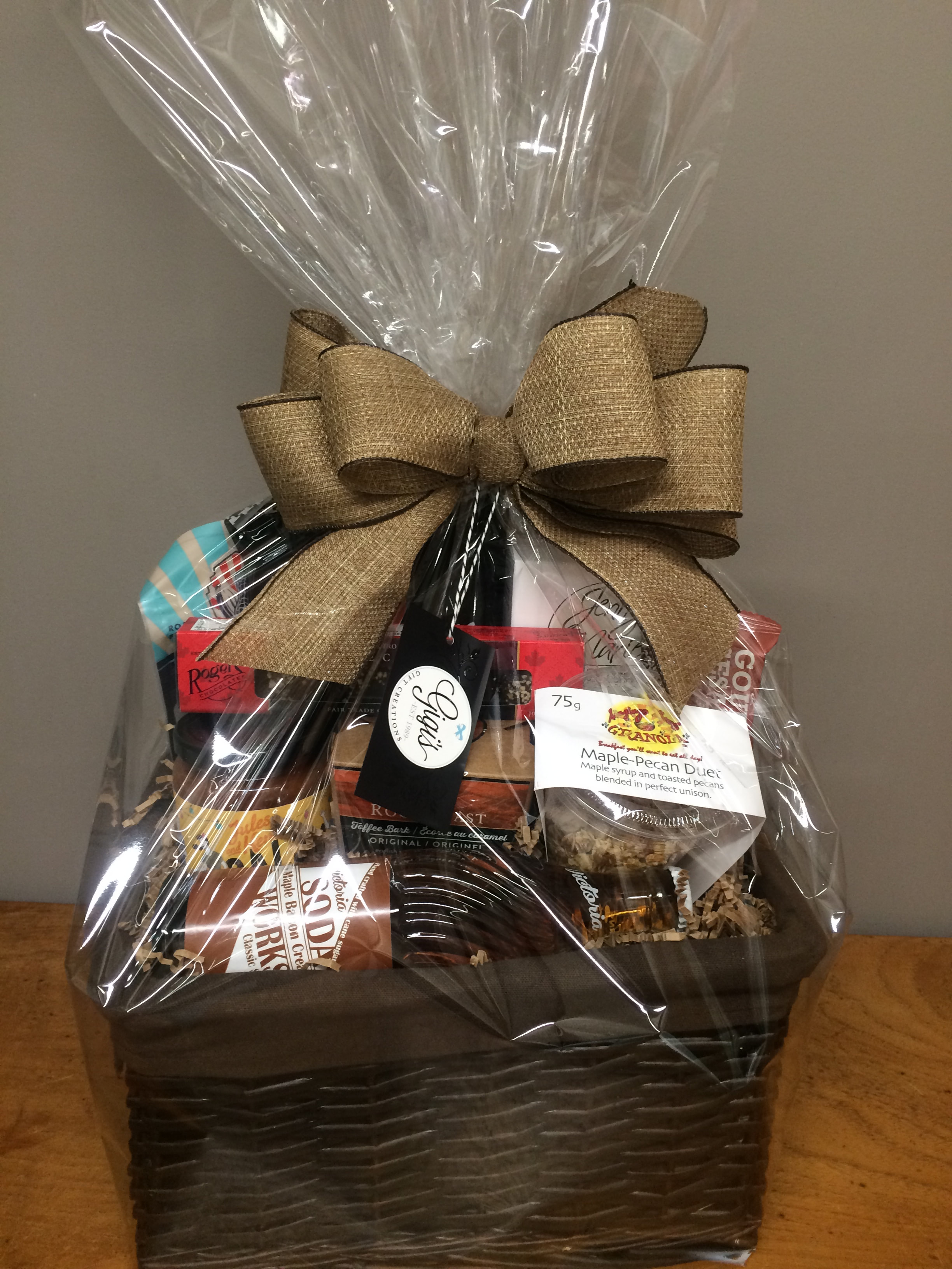 Baby Gift Baskets Vancouver : Gift basket vancouver island ftempo